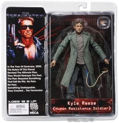 NECA Terminator Series 3 Kyle Reese Human Resistance Soldier Action Figur
