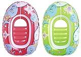 Bestway - 34037 - Jeu de Plein Air - Bateau gonflable enfant - 102 x 69cm - Coloris aléatoire