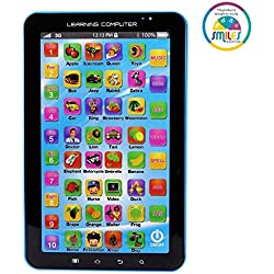 Smiles Creation P1000 Kids Educational Learning Tablet Computer, Multicolour
