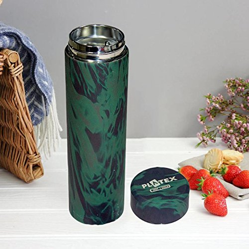 """Today's Deal"""" Stylish Allure Hot & Cold Coffee vacuum thermos Stainless steel drink water bottle 500ml thermos thermal mug my bottle thermos for food (Color as per availability)"""