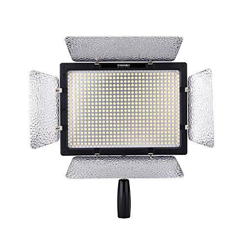Yongnuo YN-600L II 600 LED Video Studio Photography Lampada Luce Regolabile temperatura di colore...