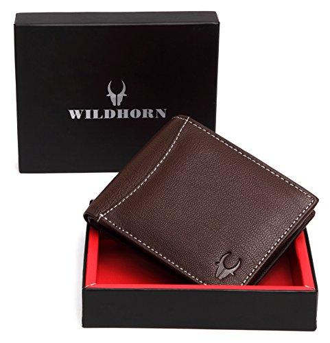 WildHorn Brown Men's Wallet (WH1256B)