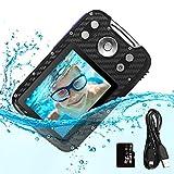 """PELLOR Kinder Digitalkamera, 2,8"""" LCD HD Wiederaufladbare Mini-Kamera Kinderkamera Wasserdicht Spielzeug Sportkamera Camcorder mit 16GB MicroSD für Indoor Outdoor"""