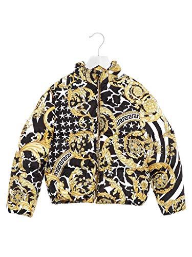 Versace Luxury Fashion Bambine E Ragazze YD000085YA00275YA743 Nero Piumino   Autunno Inverno 19