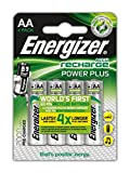 Energizer Power Plus AA Rechargeable Batteries - Pack of 4