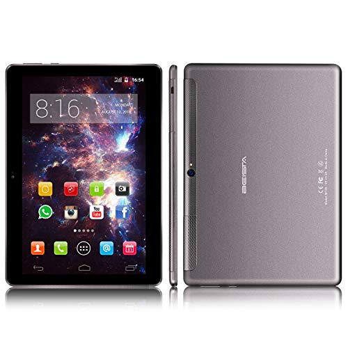 Tablet 10 pollici BEISTA-(Android 7.0,3G sim,Wifi,Quad-core,32GB ROM,2GB RAM,2.5D Steel Screen/All...