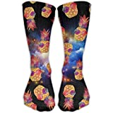 Glasses Pineapple Cool Unisex Novelty Crew Socks Ankle Dress Socks Fits Shoe Size 6-10