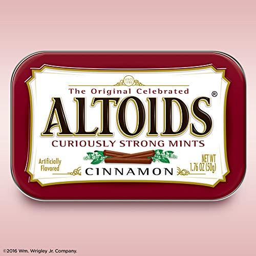 Altoids menthes Curieusement forts, cannelle, Boîtes 1.76 onces (pack de 12) 25