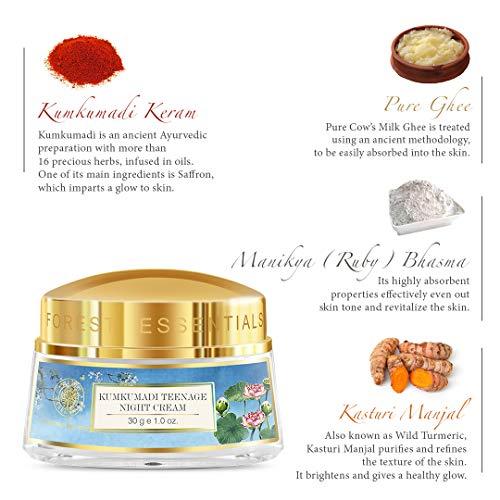 Forest Essentials Night Cream, Kumkumadi Keram, 30g 11