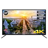 "TV LED 50"" INFINITON 4K UHD - USB, HDMI, 1800Hz, Modo Hotel"