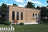 Cabaña de 12x 8de construcción reforzada. Caseta de madera para jardín/taller/lugar de descanso