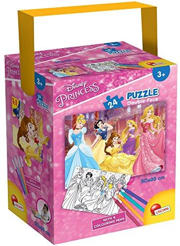 Lisciani Giochi- Princess Puzzle in a Tub Mini, 24 Pezzi, 35 x 50 cm, 65899.0