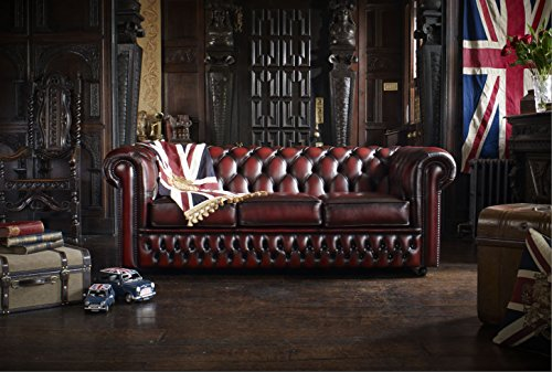 COLLINS & COOPER Divano Chesterfield Originale Inglese