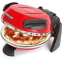 G3 Ferrari Pizza Express Delizia G10006 Forno pizza, 1200W, Rosso