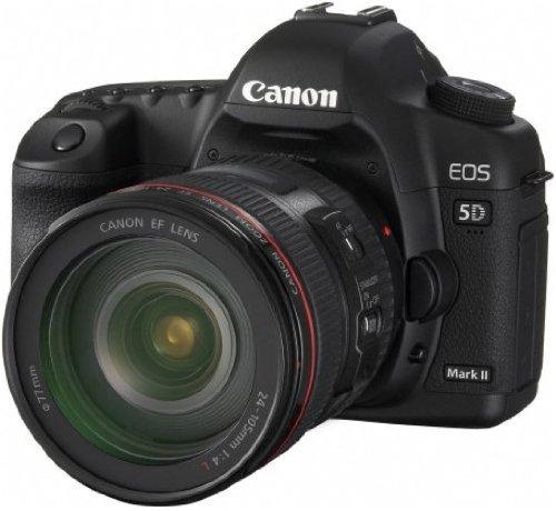 Canon EOS 5D Mark II Fotocamera Digitale Reflex 21 Megapixel + Obiettivo EF 24-105mm L IS USM