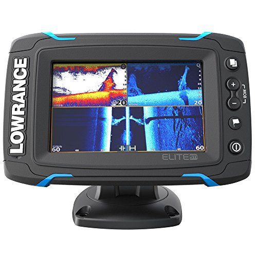 Lowrance Pesce Finder/kartenplotter Elite 5 Ti Mid/High/Downs Can, 000 - 12421 - 001