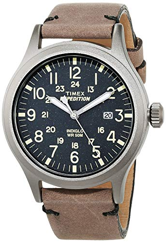 Timex Orologio Analogico Quarzo Uomo con Cinturino in Pelle TW4B01700