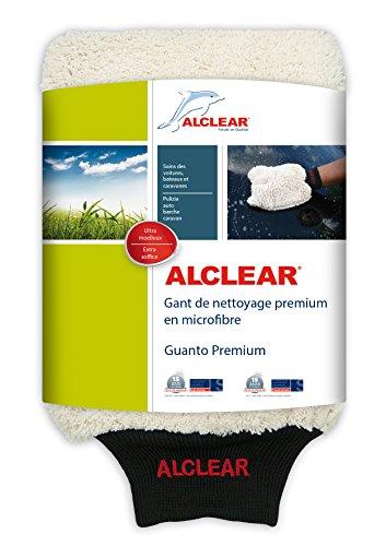 ALCLEAR Guanto di Microfibra Per Lavare l'Auto con Shampoo: Migliore di una Spugna per il Lavaggio...