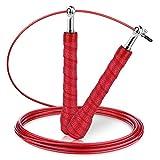 Cuerda para saltar,Gritin 3 metros Cuerda de saltar salto de alta velocidad Ajustable Para CrossFit,...