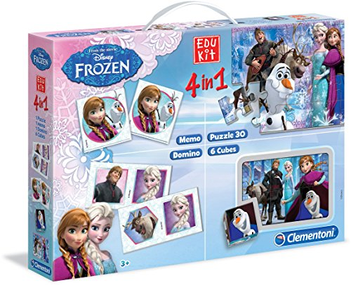 Clementoni 13495 - Edukit 4 in 1 Frozen