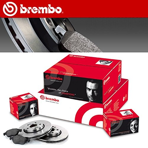 KIT DISCHI FRENO BREMBO + PASTIGLIE BREMBO ANTERIORE 09.9167.10 +P85072