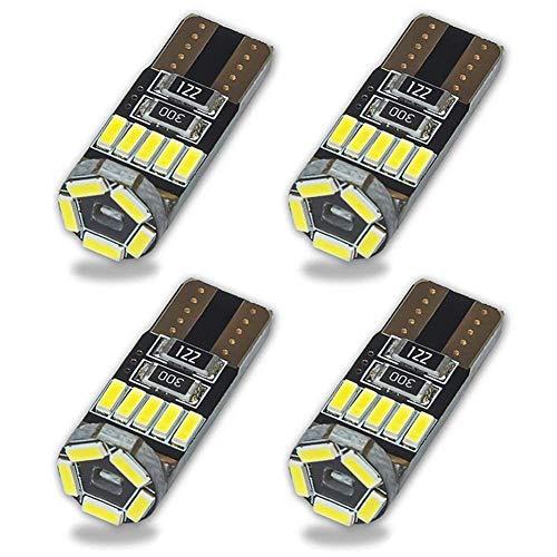 Safego 4x T10 W5W 194 168 LED Wedge Lampadina Per Auto 15 4014SMD Luci Interno Delle Lampadine...