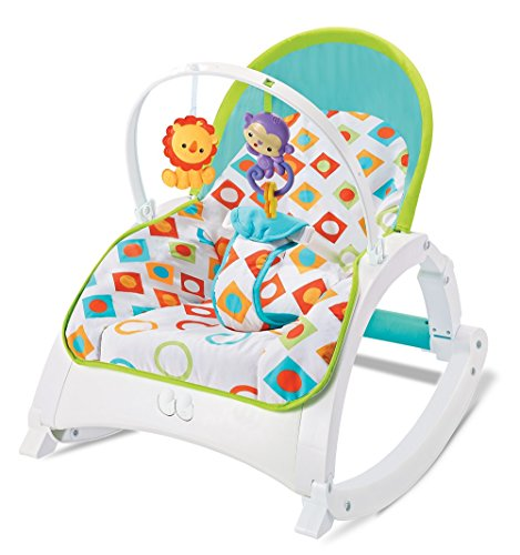 The Flyers Bay Fiddle Diddle Baby Bouncer Cum Rocker(924a)