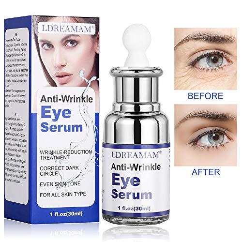 Augenpartie Serum,Augenpartie Benzin,Augenserum,creme für die Augen,Aging Serum für das Gesicht,Augencreme Anti-Age Augenkonturgel und abschwellend Tube,reduziert Falten & Augenringe