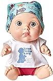 Juegaterapia - David Bisbal Baby Pelón, 12 cm (Muñecas Arias 176)