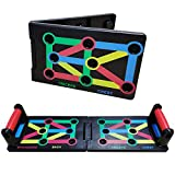 S.C. tech Push Up Tabla Board Plegable 9 en 1 Power Press Sistema Soportes Flexiones para el Aptitud...