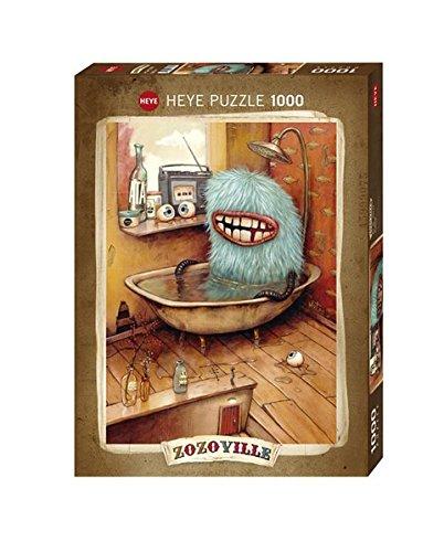 Heye Puzzle Standard Vasca da Bagno Zozoville, 1000 Pezzi, VD-29539