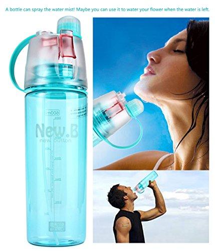Water Mist Plastic Spray Water Bottle 600 Ml