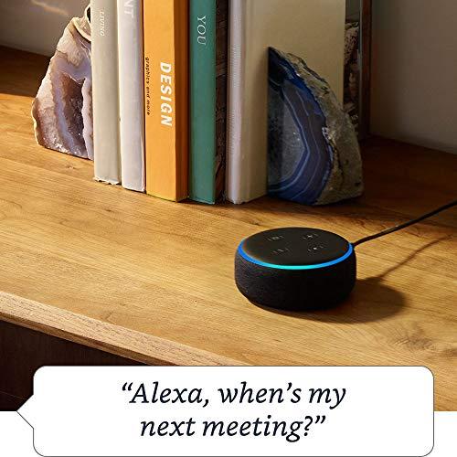Echo Dot (3rd Gen) - Smart speaker with Alexa - Charcoal Fabric 4  Echo Dot (3rd Gen) – Smart speaker with Alexa – Charcoal Fabric 51KTXkTOMXL