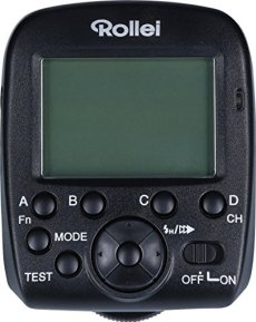 Rollei Pro Radio Transmitter 2.4 G for Sony - Transmisor de flash de 2,4 GHz profesional para Flash Rollei 56F Sony - Negro