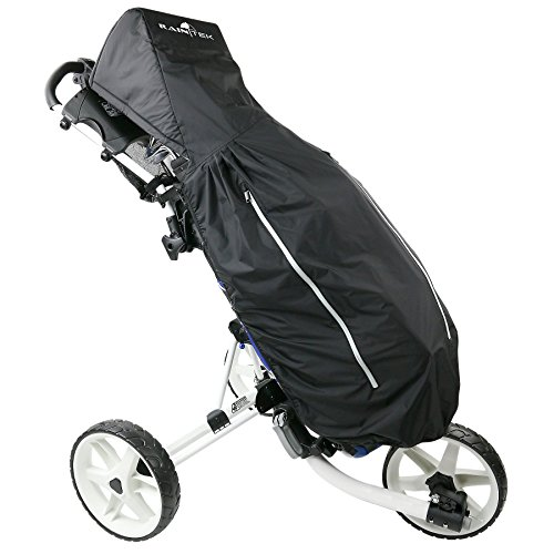 ProActive Tek Golf Bag and Club Rain Protection Cover for 2, 3, 4 Wheel, and Electric Carts