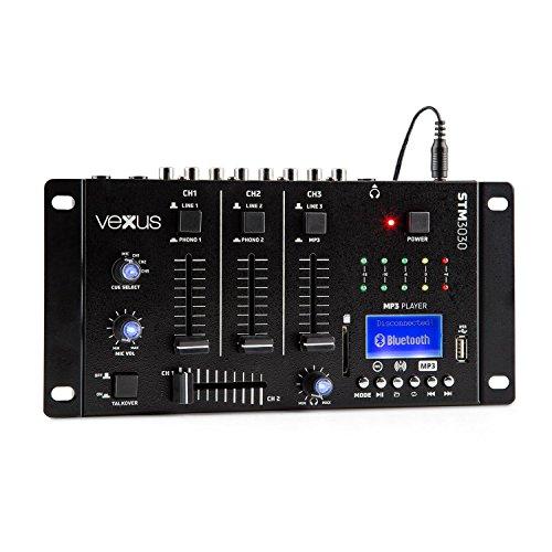 Mezclador de 4 canales para el DJ que se inicia. Incorpora USB