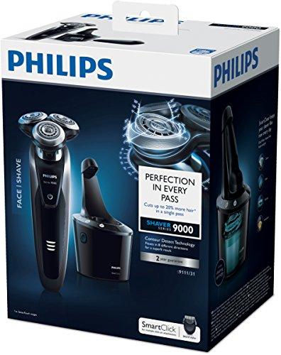 Philips-S911131-Afeitadora-Azul-Carga-BatteryMains-In-de-litio-1h-50-min