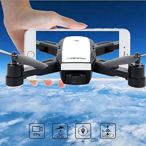 LM Drone Drones et caméras WiFi Quadcopter et 1080P caméra vidéo en Direct Hauteur Pliable Garder Mode sans tête GPS Retour Automatique 25