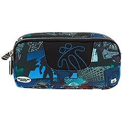TOTTO Estuches escolares, estuches dos compartimientos, varios colores y estampados - Estuche escolar dos compartimentos - Sobre