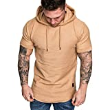 ITISME HOMME TOP Sweat-Shirt Chaud Manche Longue Automne Hiver Sweat-Shirt à Capuche Décontracté Casual Survêtements Grande Taille Tops Outwear Blouse Sweat Chic