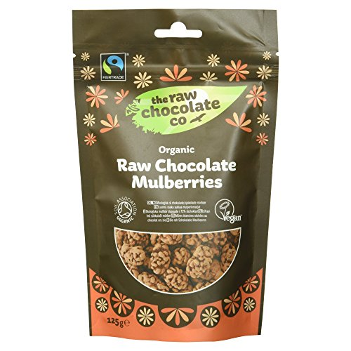 The Raw Chocolate Company Bio Chocolate Mulberries Vegan Glutenfrei 2er Pack 2 X 125 G
