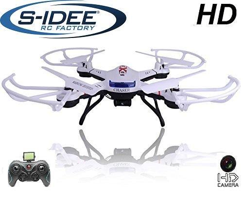 s-idee 01502 Quadrocopter S181C HD KAMERA 4.5 Kanal 2.4 Ghz Drohne mit Gyroscope Technik