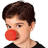 Not About - i-730fn Foam Body - Clown Nose Accessory for Fancy Dress Party - Red