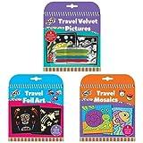 Travel Velvet Pictures and Foil Art Bundle Pack