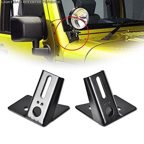 Sxma a-pillar parabrezza cerniere staffe di montaggio ausiliarioOFF-ROAD LED fendinebbia e luci di...