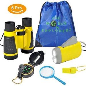 Kit de Binoculares Para-Niños