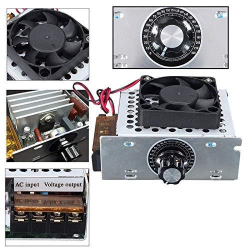 AiCheaX Tool - 1pc AC 220v 4000W Modulatore di Tensione SCR Ventilatore Elettrico Ferro Regolatore...