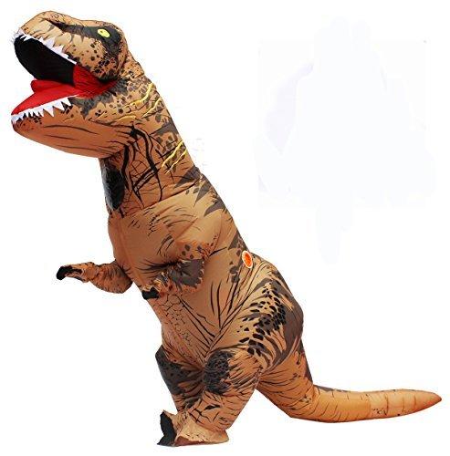 T Rex Disfraz Dinosaurio Inflable Adulto T-rex Trex Disfraces Para Halloween Brown