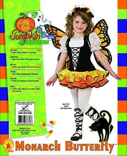 Rubie's Butterfly - Disfraz para niños, talla L
