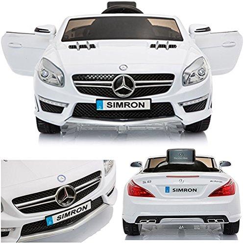 #simron Mercedes-Benz SL-63 AMG Cabriolet Ride-On 12V Elektro Kinderauto Kinderfahrzeug Kinder Elektroauto#